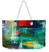 Abstract Art Colorful Original Painting Bold And Beautiful By Madart Weekender Tote Bag