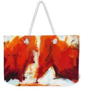 Abstract Art Forty-three Weekender Tote Bag