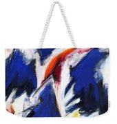 Abstract Art Forty-two Weekender Tote Bag