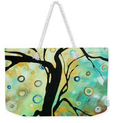 Abstract Art Landscape Circles Painting A Secret Place 3 By Madart Weekender Tote Bag