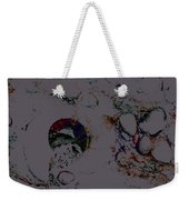 Abstract Art On The Beach Weekender Tote Bag