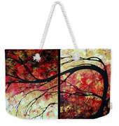 Abstract Art Original Landscape Painting Bring Me Home By Madart Weekender Tote Bag by Megan Duncanson