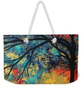 Abstract Art Original Landscape Painting Go Forth II By Madart Studios Weekender Tote Bag