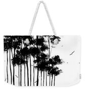 Abstract Art Original Landscape Pattern Painting By Megan Duncanson Weekender Tote Bag by Megan Duncanson