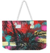 Abstract Art Original Tropical Landscape Painting Fun In The Tropics By Madart Weekender Tote Bag by Megan Duncanson
