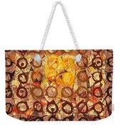 Abstract Art Sixty-six Weekender Tote Bag