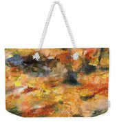Abstract Autumn 1 Weekender Tote Bag