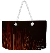 Abstract Background Of Red Sticks Weekender Tote Bag