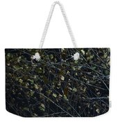 Abstract Background Of Tree At Night Weekender Tote Bag