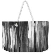 Abstract Black And White Composition Weekender Tote Bag