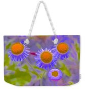 Abstract Blooms Weekender Tote Bag