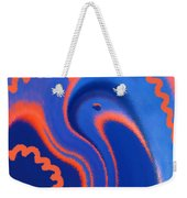 Abstract Blue Bird Weekender Tote Bag