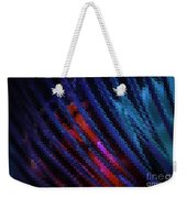 Abstract Blue Red Green Blur Weekender Tote Bag
