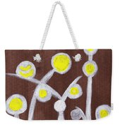 Abstract Bobbles Weekender Tote Bag