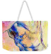 Abstract Bod 6 Weekender Tote Bag