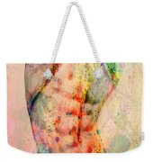 Abstract Body 5 Weekender Tote Bag by Mark Ashkenazi