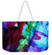 Abstract Bold Colors Weekender Tote Bag by Andrea Anderegg