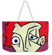 Abstract Boy Weekender Tote Bag