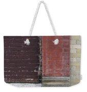 Abstract Brick Wall 1 Weekender Tote Bag