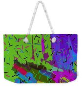Abstract. Bring In The Noise Weekender Tote Bag