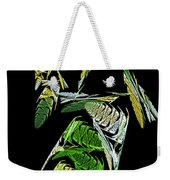 Abstract Bugs Vertical Weekender Tote Bag