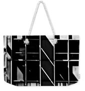 Abstract Building Fascade With Light And Shadow Weekender Tote Bag
