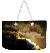 Abstract By Eclipse Weekender Tote Bag