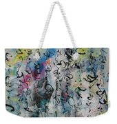 Abstract Calligraphy 00 Weekender Tote Bag