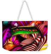 Abstract - Carnival Weekender Tote Bag