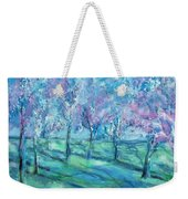Abstract Cherry Trees Weekender Tote Bag