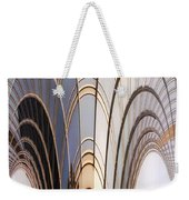 Abstract Chicago Sunrays On Trump Tower Weekender Tote Bag