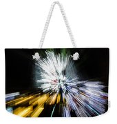 Abstract Christmas Lights - Burst Of Colors Weekender Tote Bag
