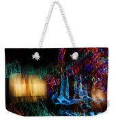 Abstract Christmas Lights - Color Twists And Swirls  Weekender Tote Bag