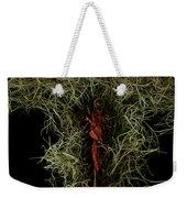 Abstract Christmas Manger Weekender Tote Bag
