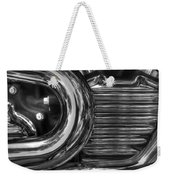 Abstract Chrome Weekender Tote Bag