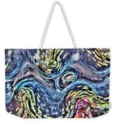 Fluted Giant Clam Weekender Tote Bag
