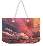 Abstract Clouds Weekender Tote Bag