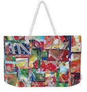 Abstract Collages 1 Weekender Tote Bag