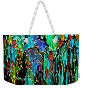 Abstract Color Falls Weekender Tote Bag