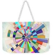 Abstract Color Wheel Weekender Tote Bag