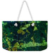 Abstract Colorful Light Projection On Trees Weekender Tote Bag