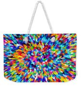 Abstract Colorful Splash Background 1 Weekender Tote Bag