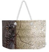 Abstract Concrete 11 Weekender Tote Bag
