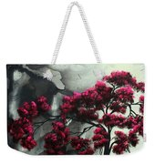 Abstract Contemporary Art Landscape Painting Modern Artwork Pink Passion By Madart Weekender Tote Bag