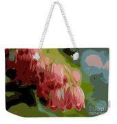 Abstract Coral Bells Weekender Tote Bag