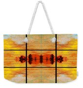 Abstract Cracker Tapestry Weekender Tote Bag