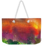 Abstract - Crayon - Utopia Weekender Tote Bag by Mike Savad