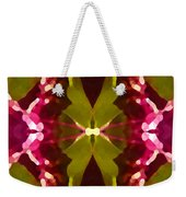 Abstract Crystal Butterfly Weekender Tote Bag