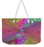 Abstract Cubed 136 Weekender Tote Bag