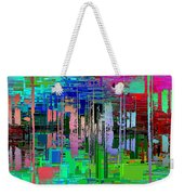 Abstract Cubed 19 Weekender Tote Bag